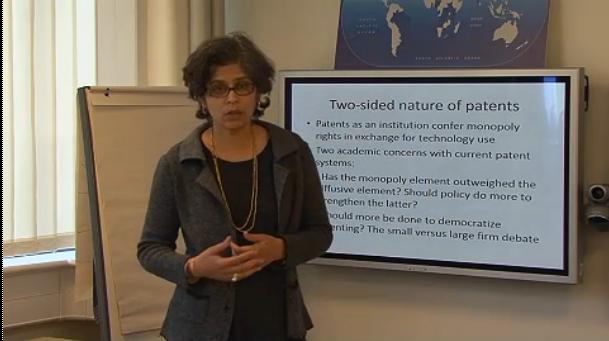 Suma Athreye Patent Use in the UK seminar image