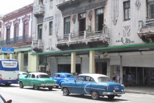 Classic cars in Havana image
