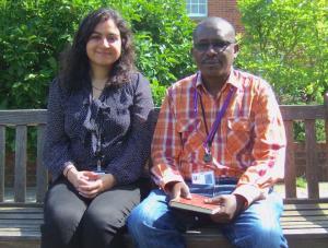 Photo of Pallavi Joshi and Richard Arun