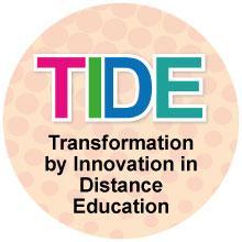 Logo bearing TIDE name