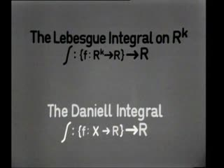 video preview image for The Daniell integral