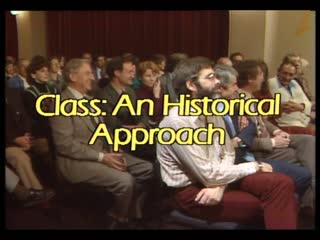 video preview image for Open Forum 79(1982) : class: an historical approach