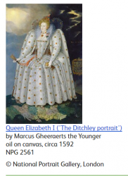 Portrait of Queen Elizabeth I (The Ditchley Portrait)