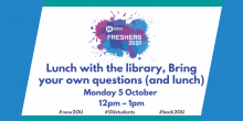 Lunch with the Library event 5 October at noon