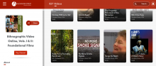 Screen shot of Anthropology Resource Library video database