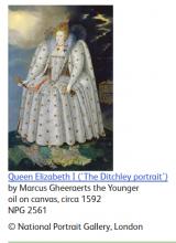 Portrait of Queen Elizabeth I (The Ditchley Portrait)