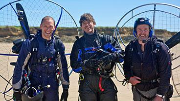 Simon Reeve in Bannow Bay