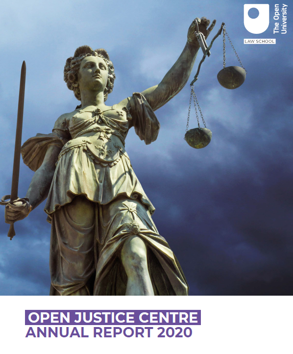 Open Justice Report 2020 cover