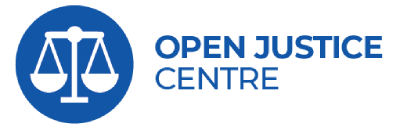 Open Justice logo