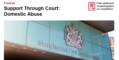 Support Through Court course image
