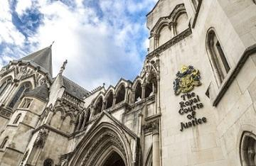 Outside of Royal Courts of Justice