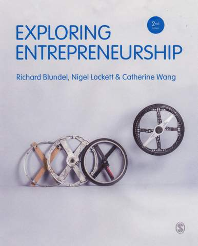 Cover page of textbook - Exploring Entrepreneurship