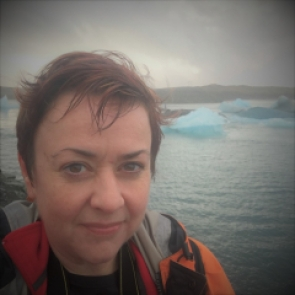 Photo of Louise Thomas in Iceland