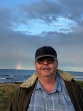 James Roy at Redcar beach