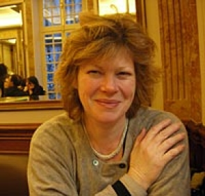 Nicola Watson recovering from Victor Hugo's house, Paris, 2013