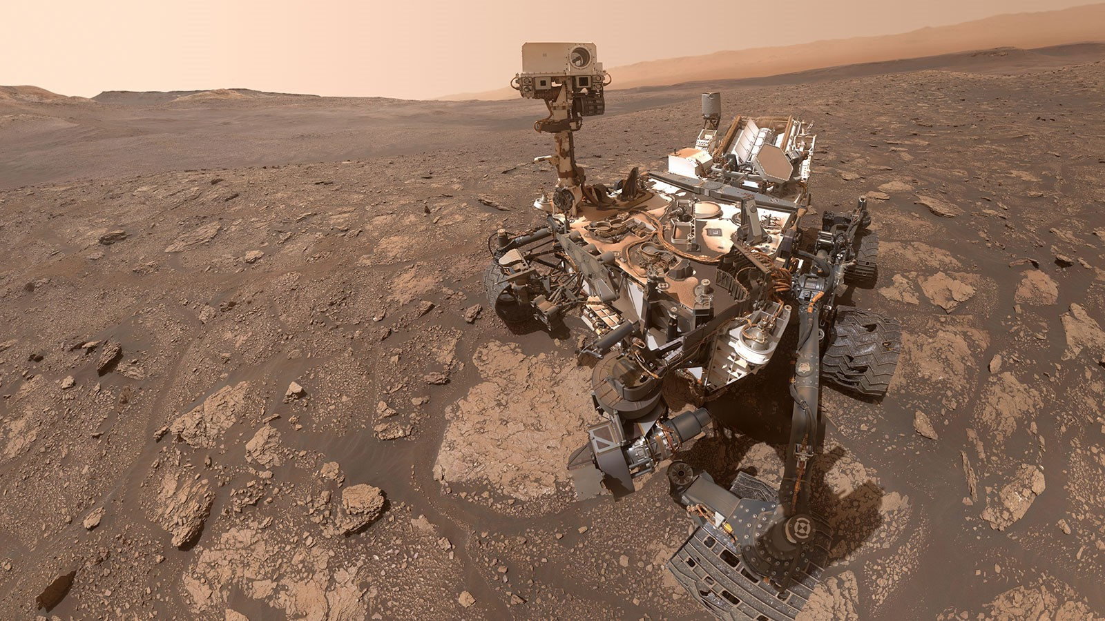 : Curiosity at Mary Anning, Gale Crater