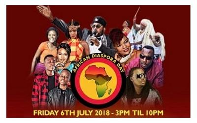 African Diaspora Day photo from promotional poster