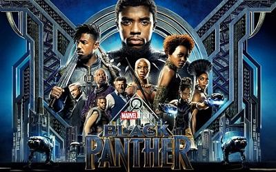 Poster for Black Panther 2018