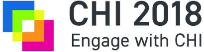 CHI 2018 conference logo
