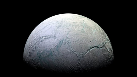 Enceladus. NASA
