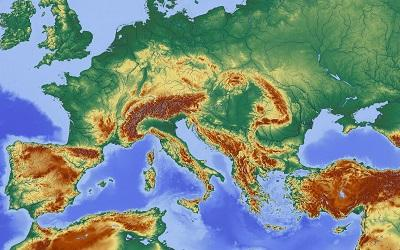 Map of Europe - www.pixabay.com