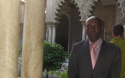 Photo of Dr Mutwaraisbo taken in Seville