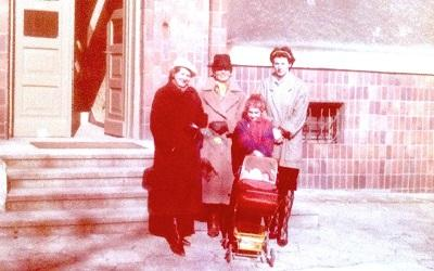 Personal family photo from Dr Agnes Czajka