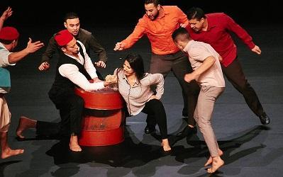 Photo of theatre production by Groupe Acrobatique de Tanger