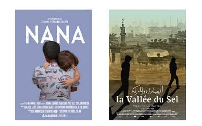 Examples of film posters, one called 'Nana'