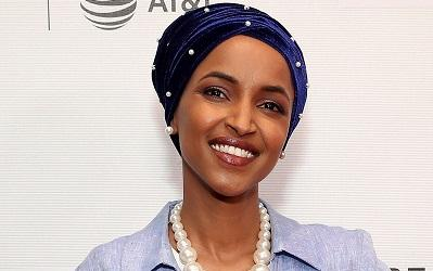 Photo of Ilhan Omar smiling