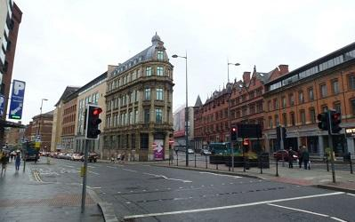 Photo of a street in Liverpool