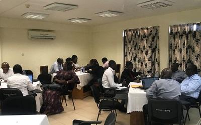 MIAG group discussions at their recent meeting in Ghana