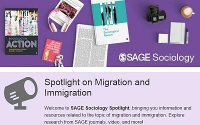 Screenshot of SAGE's latest published newsletter