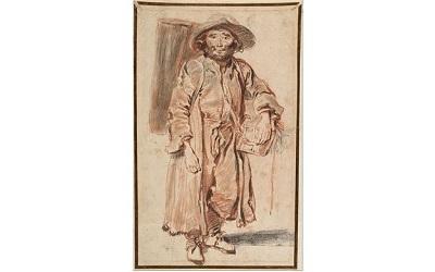 Sketch by Watteau