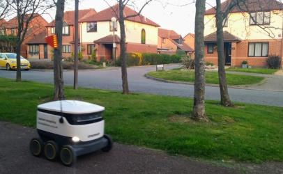 Autonomous robot. Image credit: Miguel Valdez