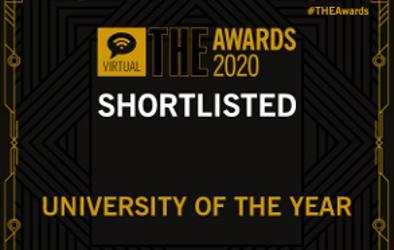 THE Awards 2020 log