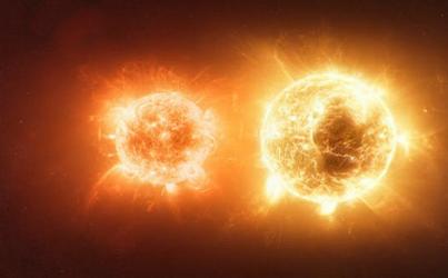 Binary stars. Image credit: xavinitram