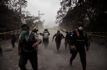 Deadly volcanic eruption in Guatemala. EPA-EFE