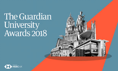 The Guardian University Awards 2018