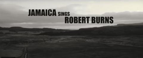 Jamaica sings Robert Burns