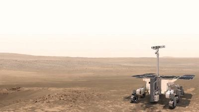 The Rosalind Franklin rover. ESA, CC BY-NC-SA