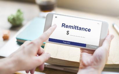 Shutterstock-522344509 Online money transfer concept