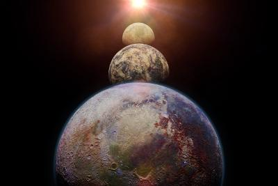 Exoplanets concept