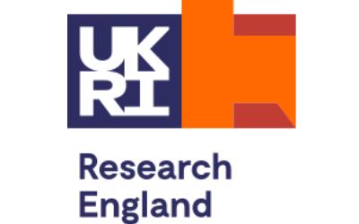 UKRI Research England logo