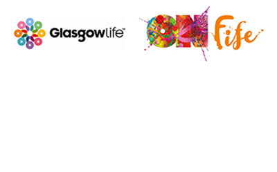Glasgow Life and ONFife logos