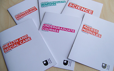 a selection of prospectuses