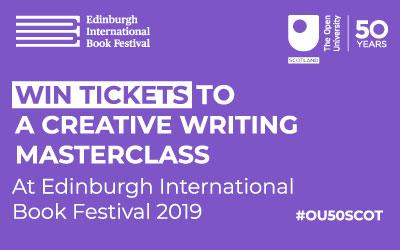 Win tickets to a Creative Writing Masterclass graphic