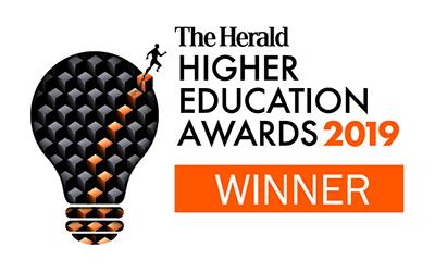 Graphic - The Herald Higher Education Awards 2019 winner