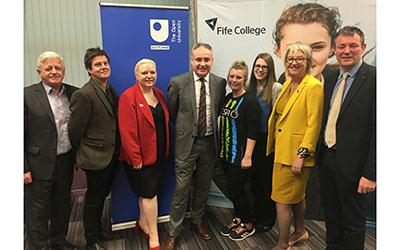 Ministerial visit to Fife College