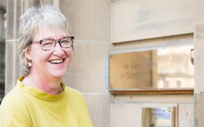 Susan Stewart Director of The Open University in Scotland